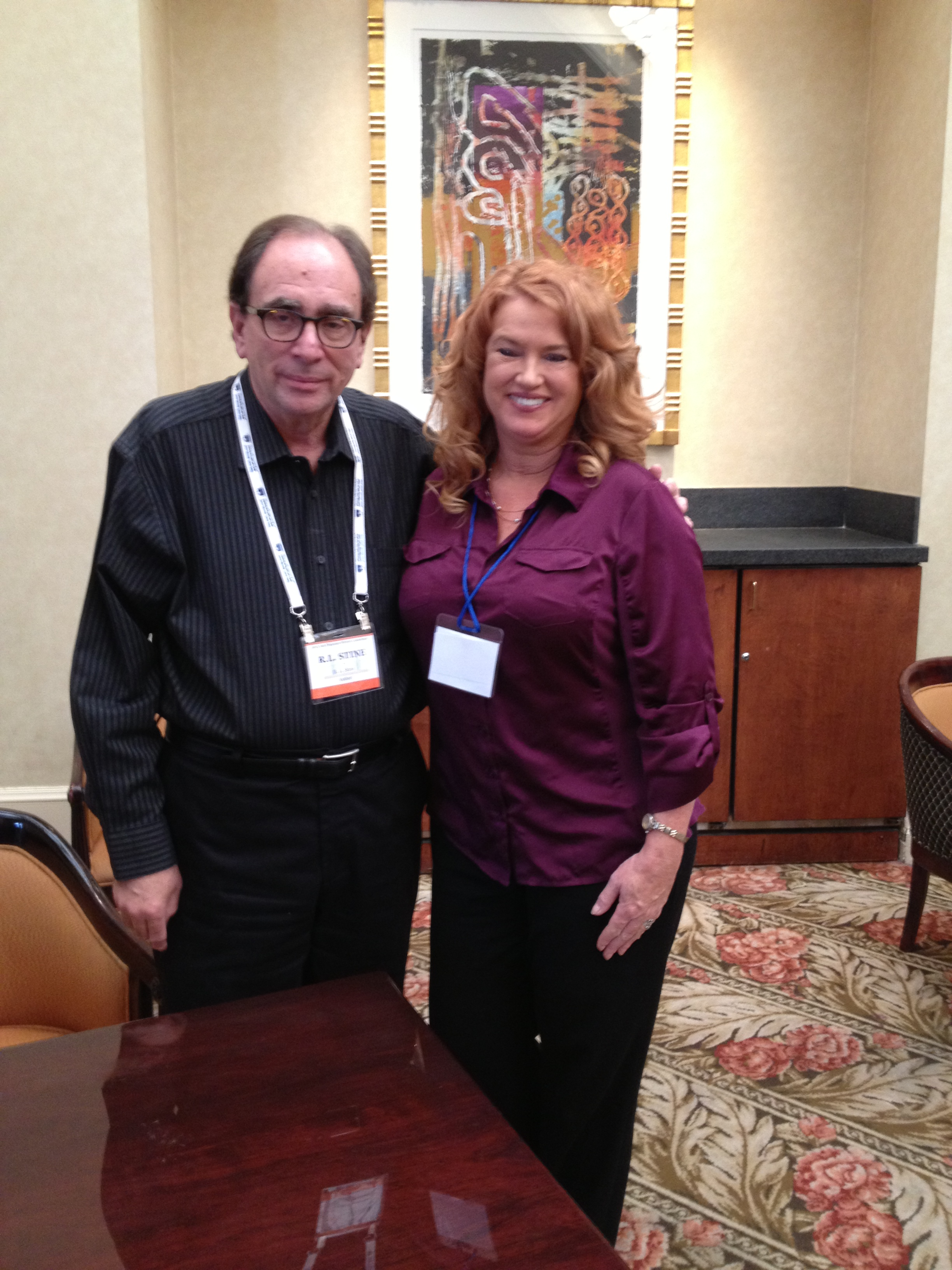 R.L. Stine at the San Francisco Writers Conference