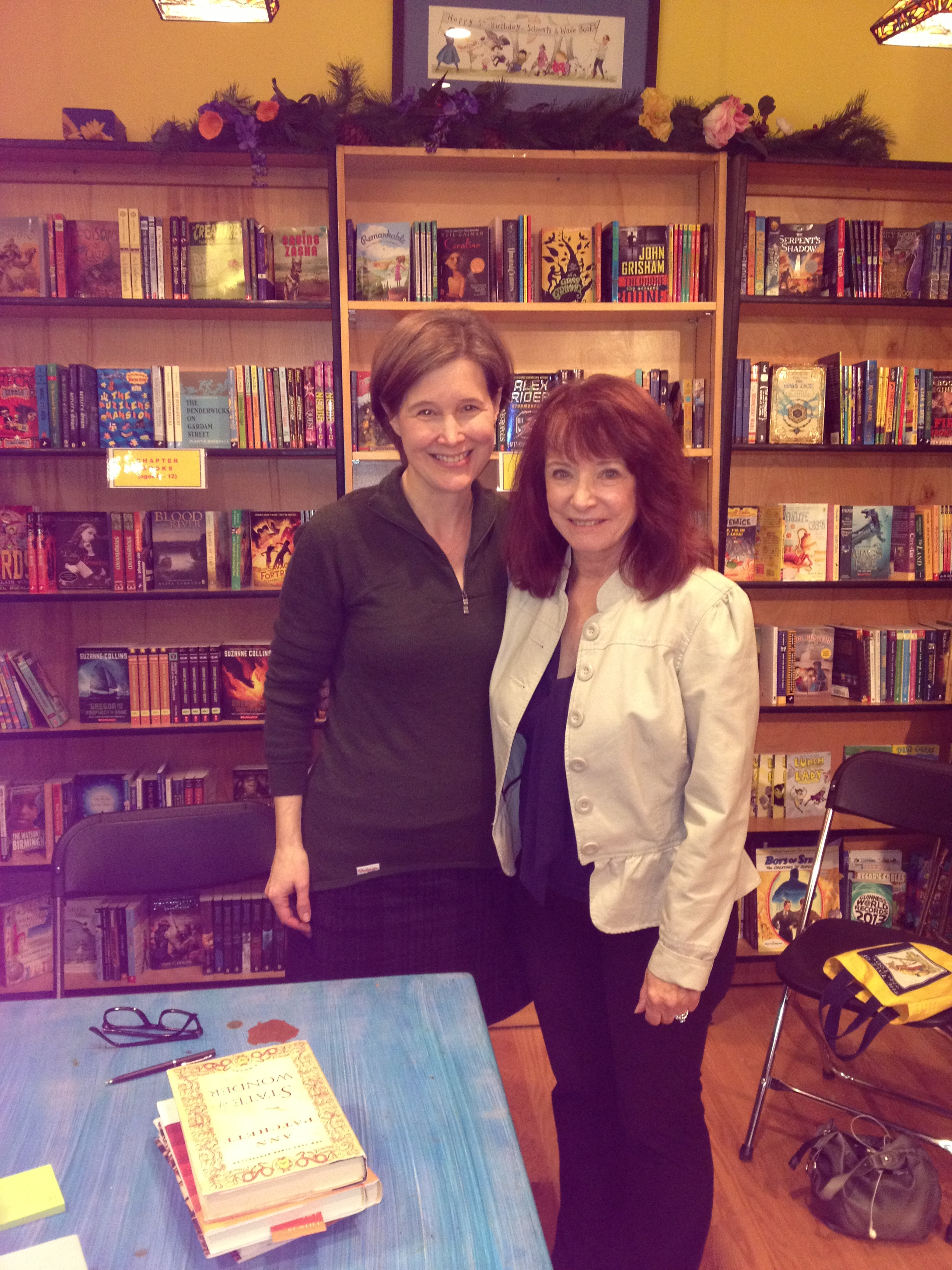 Ann Patchett reading event for her newest book, This is a Story of a Happy Marriage