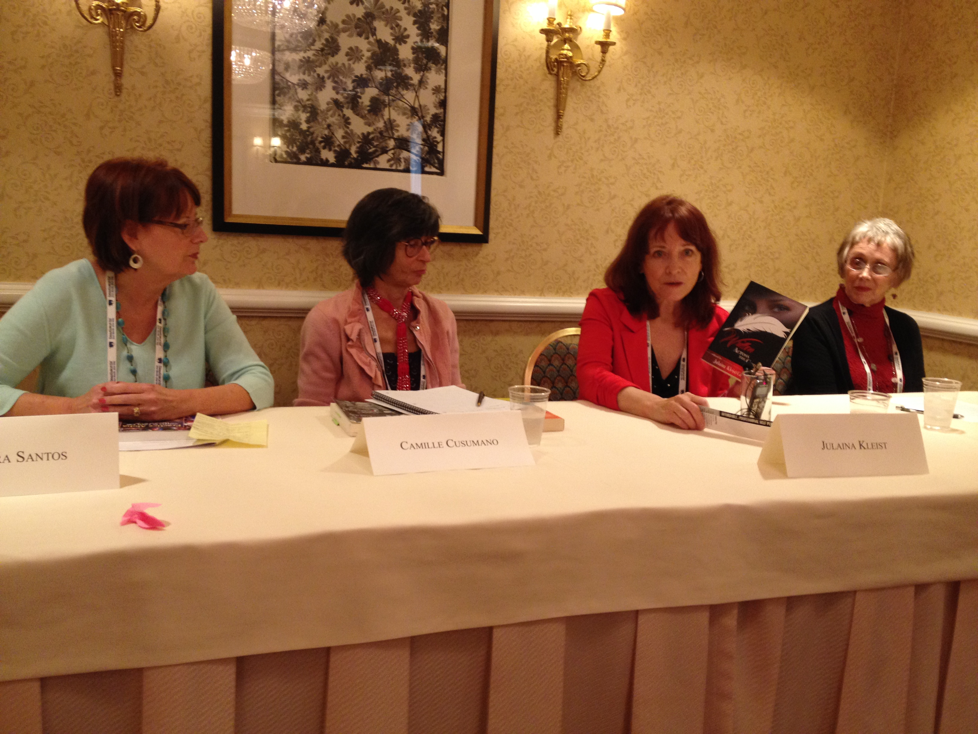 Anthology Panel at the San Francisco Writers Conference