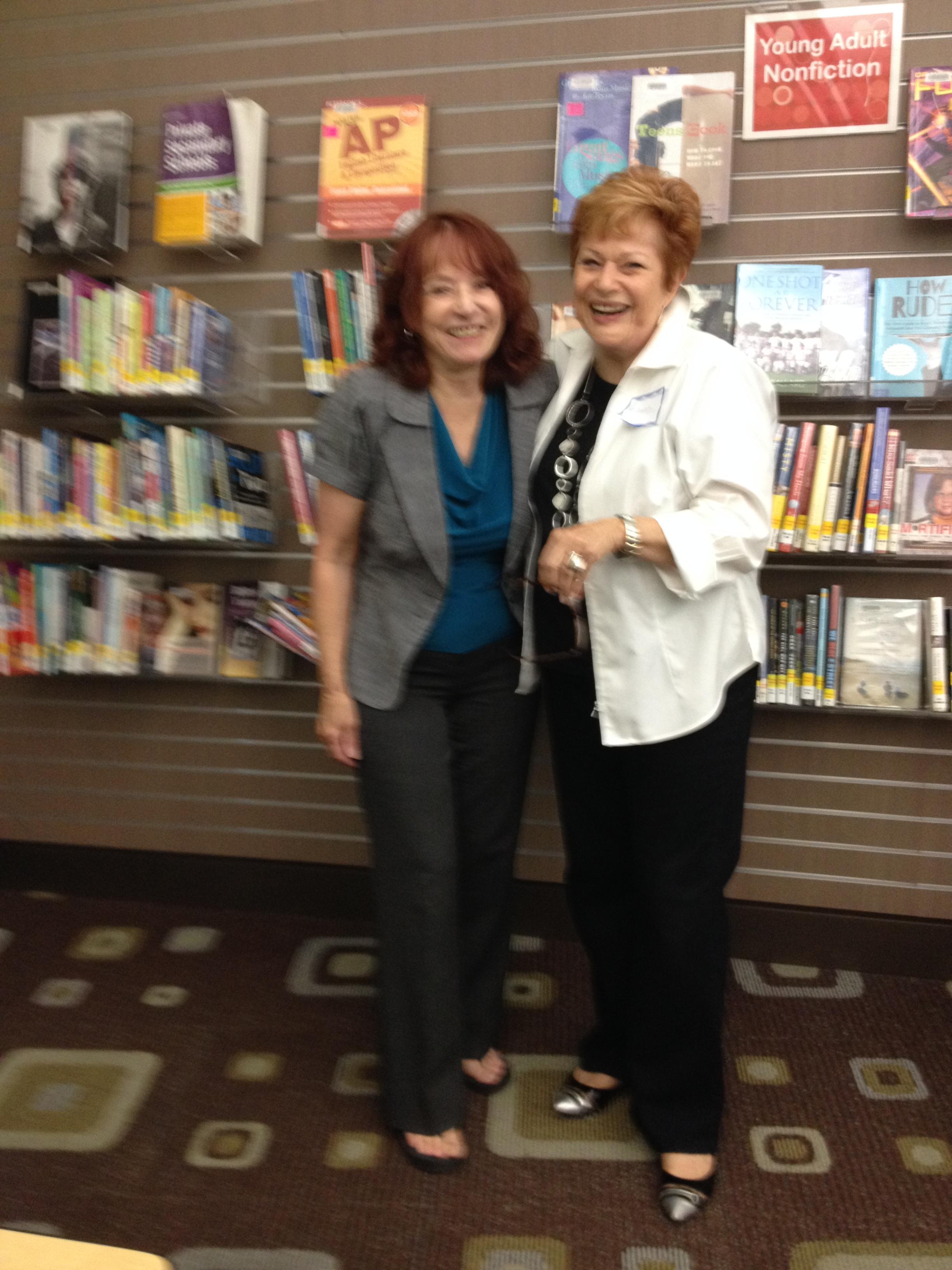 With Shari Williams