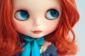 Big eyed doll