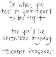 Eleanor Roosevelt decision
