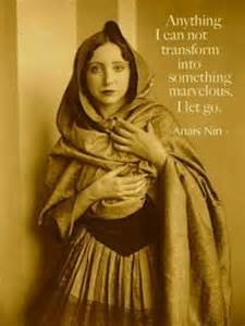 Anais Nin with quote