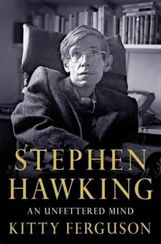 Stephen Hawking with his name