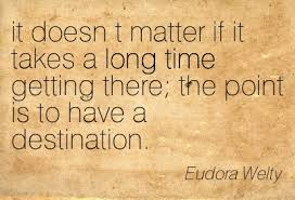 Eudora Welty about time