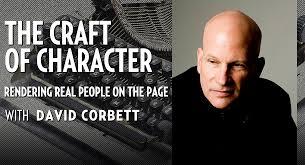 David Corbett with title of his book