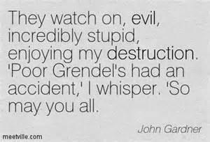 john gardner poor Grindel