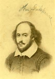 Shakespear with signature