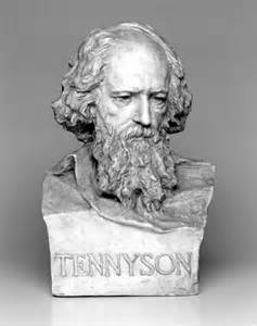 Alfred Lord Tennyson bust