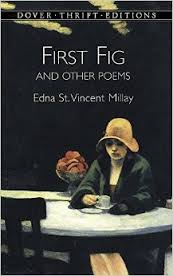 edna St. VM Book cover First Fig