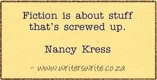 Nancy Kress fiction about screw ups