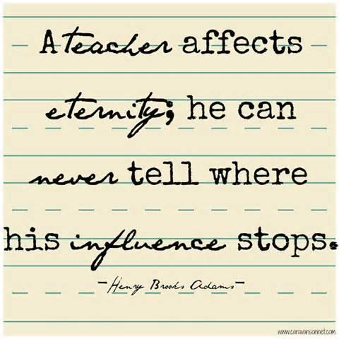 Teachers influence
