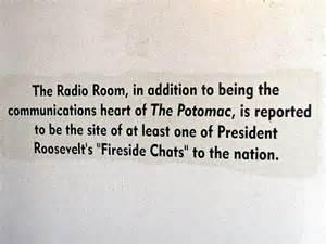 USS Potomac Radio Room