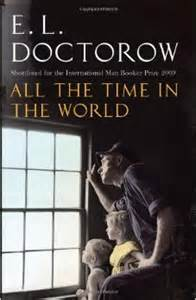 EL Doctorow book all the time in the world