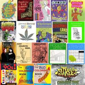 coloring books showing multiple kinds
