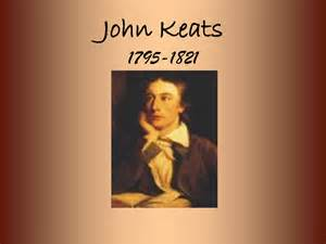 John Keats BD to Death